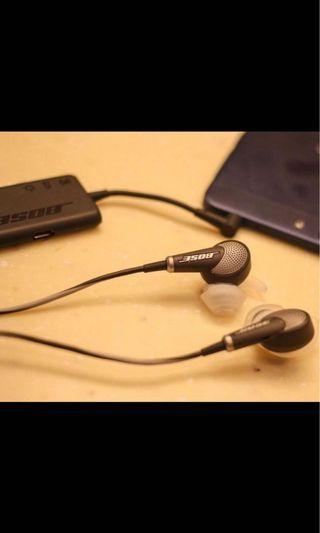 Bose QuietComfort QC20 Noise Cancelling earphones