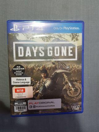 🚚 PS4 Days Gone