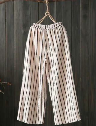BNWT Striped Culottes