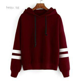Casual comfy hoodie uzzlang long sleeve