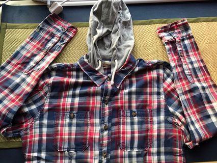 Hollister shirt with hood