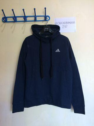 Hoodie Adidas Performance TS Hipster - Navy Blue