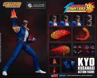 (PO) STORM 1/12 KING OF FIGHTER 98 ULTIMATE MATCH KYO KUSANAGI - WONDER FESTIVAL 2019 (LIMITED EDITION)