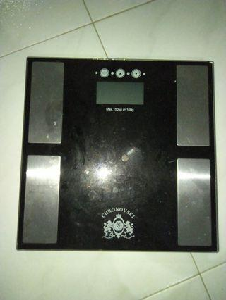 Digital Weighing Scale with bodyfat analyser