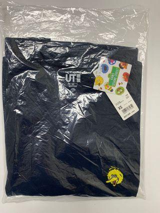 全新正品 uniqlo kaws sesame street 芝麻街 大鳥姐姐 短t t恤  xs 購於日本  只有一件