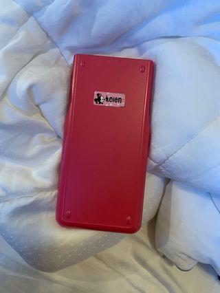 🚚 Canon pink calculator