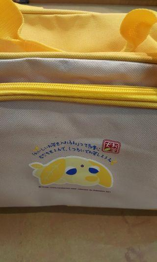 茶犬旅行袋