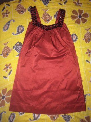 Minidress red S-M