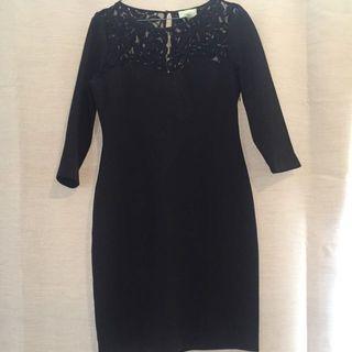 Black review dress