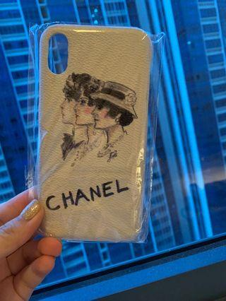 Chanel iphone X / XS case
