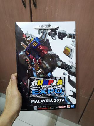 EXPO 2019 MG 1/100 RX-78-2 VER 3.0 paper Bag & Poster