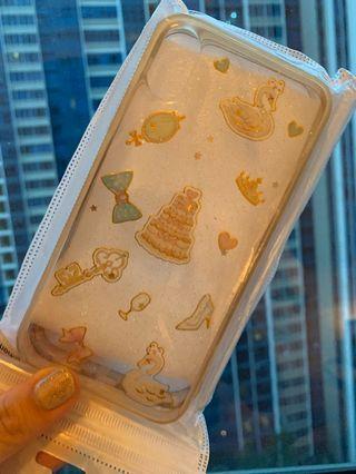 Girly vintage swan mirror iphone X / XS case