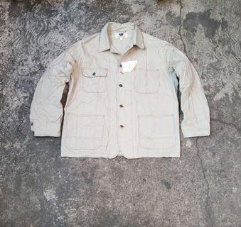 Turkey Bear Chore Jacket Size  L