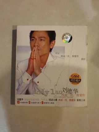 🚚 Andy Lau - All.about Love Audio CD