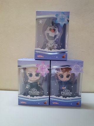 Cosbaby Frozen Olaf's Frozen Adventure set of 3