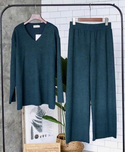 1 set bahan knit