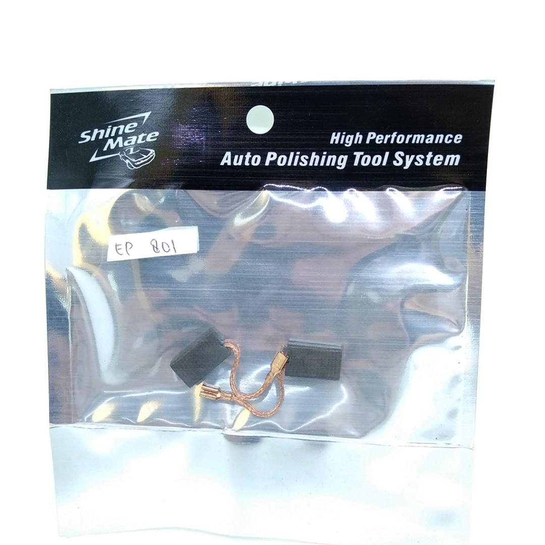 1 set Carbon Brush Mesin Shinemate Rotary Ep801