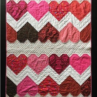 Tula Pink Hearts Quilt Kit