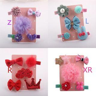 🚚 Cutie hair clips for baby girl