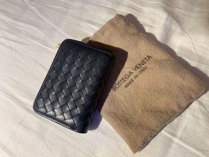 🚚 Bottega Veneta Wallet // blue card wallet