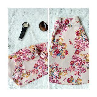 [FREE ONGKIR] Rok Mini Wanita Flower Bunga Bunga