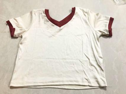 平放系列‼️寬鬆拼色T恤(文青)