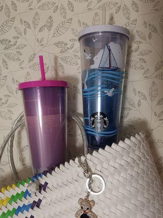 Starbucks 2 summer venti cup