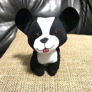 Black white doggy soft toy - Bananas brand