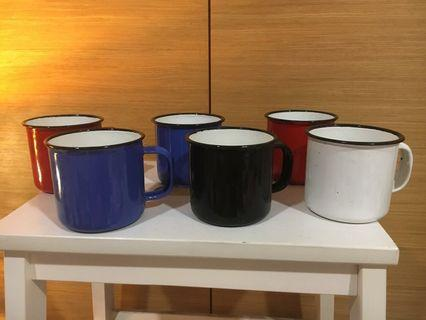 Antique Coffee Cups (Set of 6)