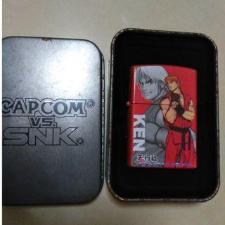OFFER PRICE - Street fighter ken masters red zippo lighter