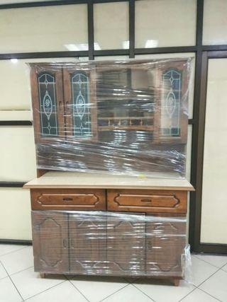 Wooden Kitchen Cabinet (7ft)