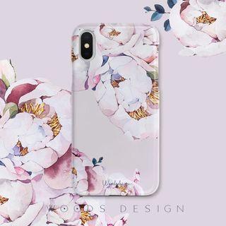 (Instock) iPhone 7/8 Floral Case (Karan Pink)