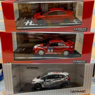 香港限定 全新 Tarmac Works 1/64 Evo5 FD2 (Not Ignition Model Tiny Tomica Mini GT)