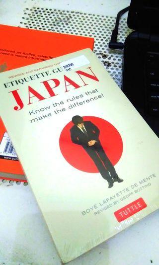 Buku Impor Etiquette Guide to Japan