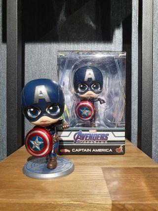 RESTOCKS LISTING Hot Toys Avengers: Endgame Captain America Masked Cosbaby MISB