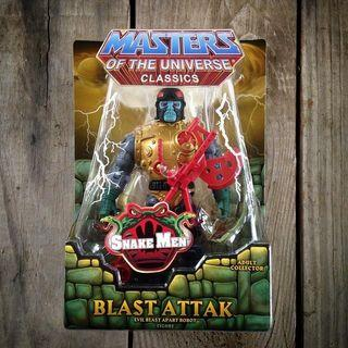 MATTLE MOTU MASTERS OF THE UNIVERSE CLASSICS PRINCESS OF POWER BLAST ATTAK (Stock-In-Hand)