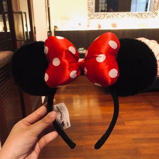 Preloved ORIGINAL DISNEYPARK bando minnie mouse❤️