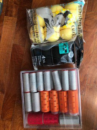 🚚 Hair curlers - new and used