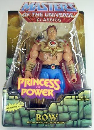 MATTEL MOTU MASTERS OF THE UNIVERSE PRINCESS OF POWER BOW (Stock-In-Hand)