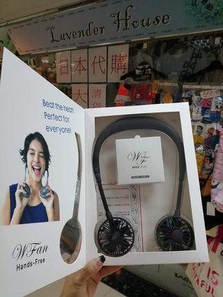 Wfan 穿戴式風扇 免提 便攜式風扇