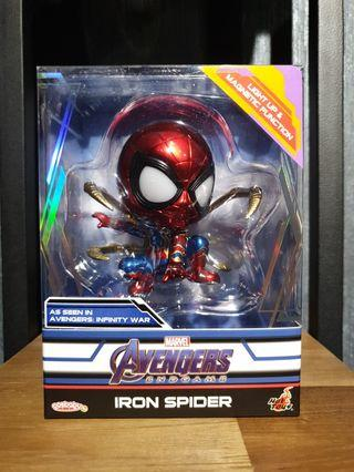 RESTOCKS LISTING Hot Toys Avengers: Endgame Iron Spider Magnetic and LED Light Up Functions Cosbaby MISB