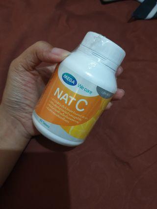 NAT C 1000 mega we care 60 tablet