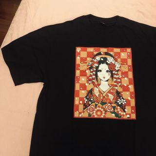 Preloved JAPANESE GIRL tshirt