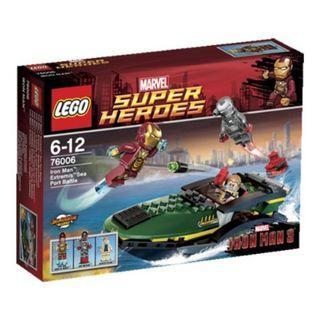 LEGO Super Heroes Iron Man: Extremis Sea Port Battle (76006)