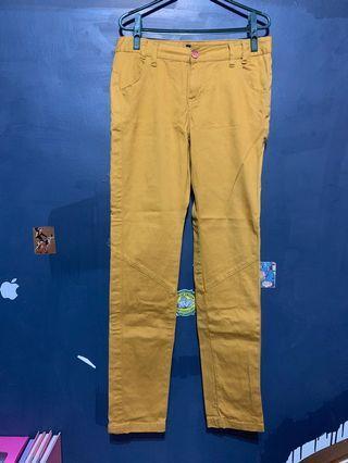 🚚 土黃直筒褲