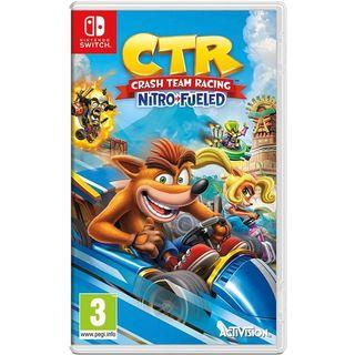 READY STOCK! Crash Team Racing Nitro-Fueled Nintendo Switch [EU]