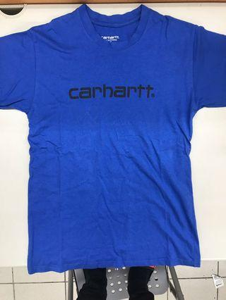 🚚 Carhartt logo 重磅tee