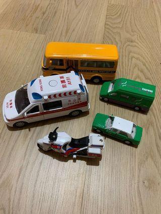 Mini Transportation Vehicles 🚘 (香港交通工具模型車)