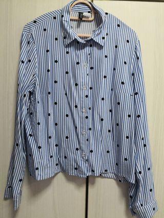H&M blouse long sleeve