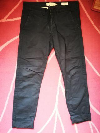 H&M Skinny Fit Jeans (Navy Blue)